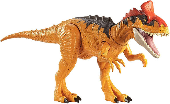 Jurassic World Dinosaurio Cryolophosaurus Primal Attack Ruge