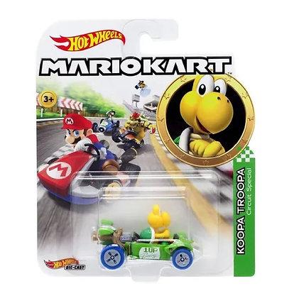 Auto Hot Wheels Mariokart Original Mattel Koopa Troopa