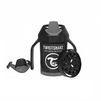 Vaso Entrenador 7oz 4m+ Twistshake Negro