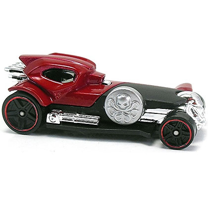 Auto Red Skull Marvel Hotwheels