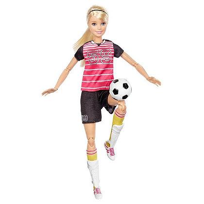 Barbie Movimientos Deportivos Futbol