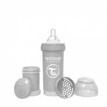 Tetero Anticolico Twistshake 8oz 260ml Gris