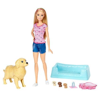 Barbie Cachorros Recién Nacidos