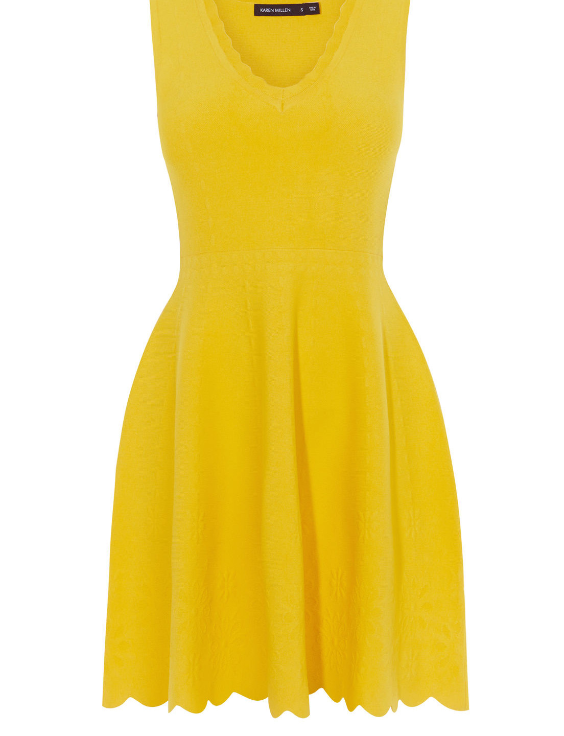 When life gives you lemons... FIT AND FLARE DRESS £148.80, KAREN MILLEN AT DE GRUCHY