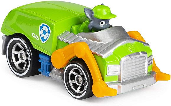 Auto Vehículo Paw Patrol True Metal Metálico Rocky Original