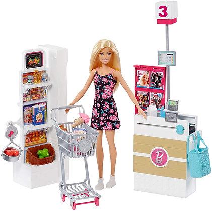 Barbie Supermercado Supermarket Incluye Accesorios