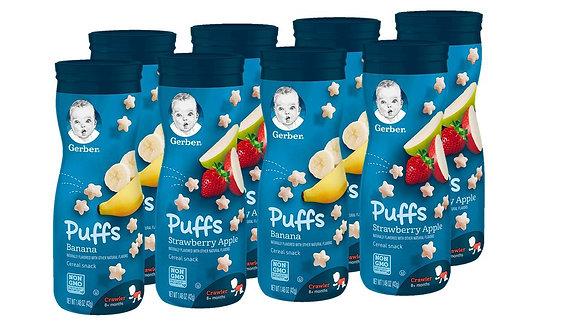 Gerber Puffs Cereal Snack Para Bebe