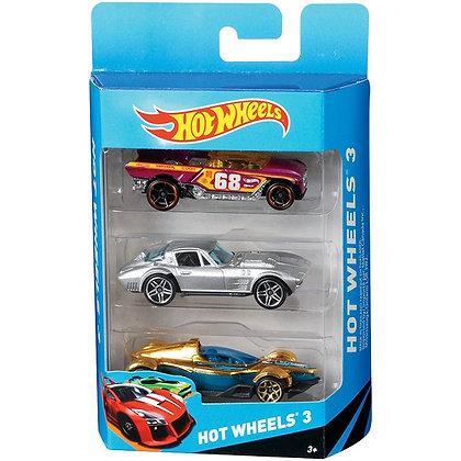 Autos De Colección Hotwheels x3