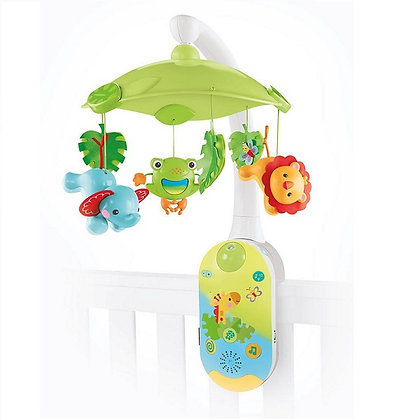 Movil Rainforest 2-1 con Proyector Fisher Price
