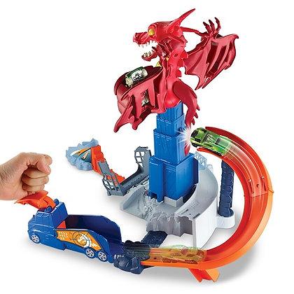 Pista De Carros Dragón Explosivo Hotwheels