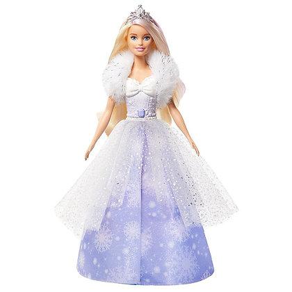 Barbie Dreamtopia Muñeca Princesa De Nieve Original Mattel