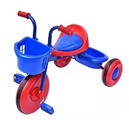 Triciclo Bambino Infantil Montable Color Rojo