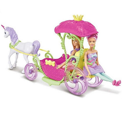 Carruaje Unicornio Barbie
