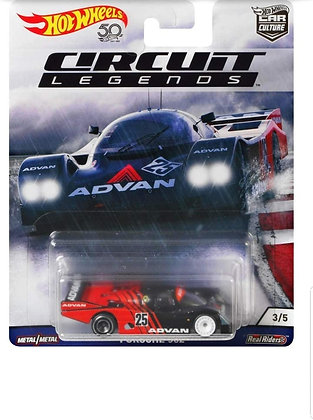Auto Hot Wheels Circuit Legends Porsche 962