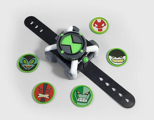 Reloj Omnitrix Disc Shooter Ben 10 Lanzador De Discos Oferta