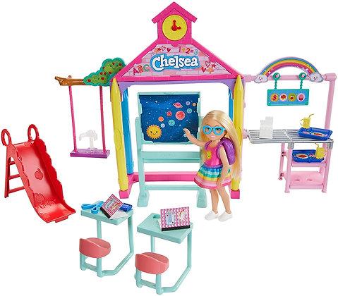 Barbie Chelsea Hora De Ir A La Escuela Diversión En Escuela