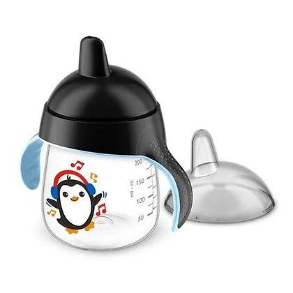 Vaso Avent Pingüino Entrenador 9oz 260ml 12m+ Negro