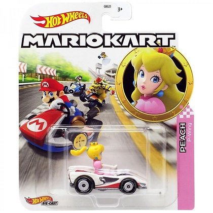 Auto Hot Wheels Mariokart Original Mattel Peach P Wing