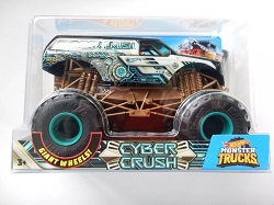 Hot Wheels Autos Carros Monster Trucks Cyber Crush