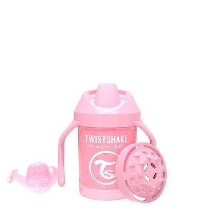 Vaso Entrenador 7oz Twistshake Rosado