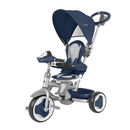 Triciclo Paseador Bebe Niños Astro Elite 360 Prinsel 3 En 1 Azul