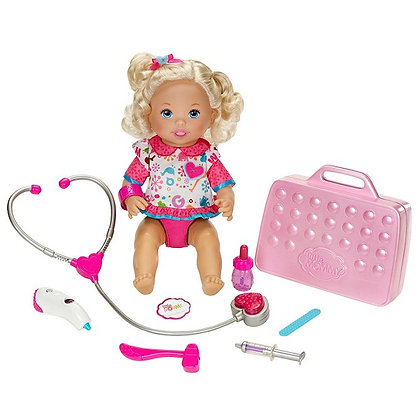 Muñeca Little Mommy Mami Doctora