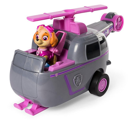 Paw Patrol Flip And Fly Transformer Skye Auto Lanzador
