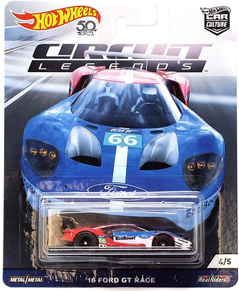 Auto Hot Wheels Circuit Legends 16 Ford Gt Race
