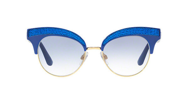 Oversized, loud and heavily jewelled SUNGLASSES £274, DOLCE AND GABBANA AT DE GRUCHY