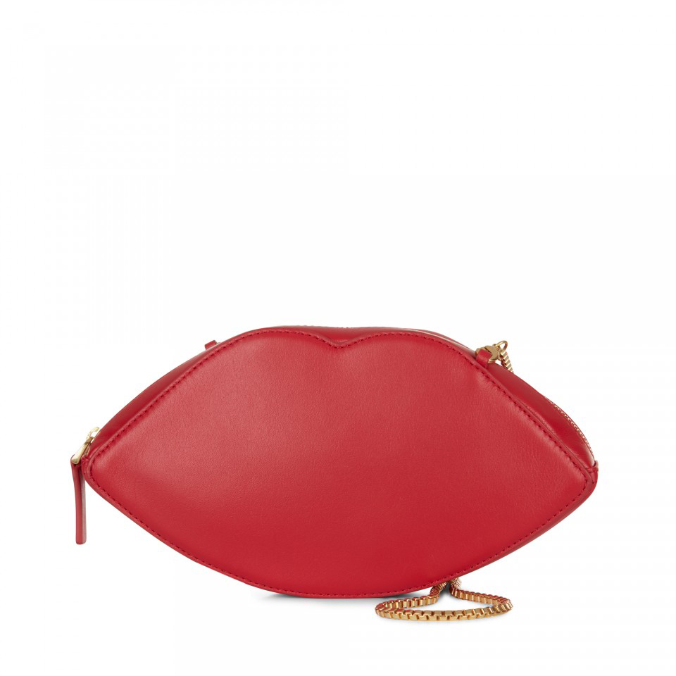 Kiss of approval LEATHER CROSS BODY £131, LULU GUINESS AT VOISINS