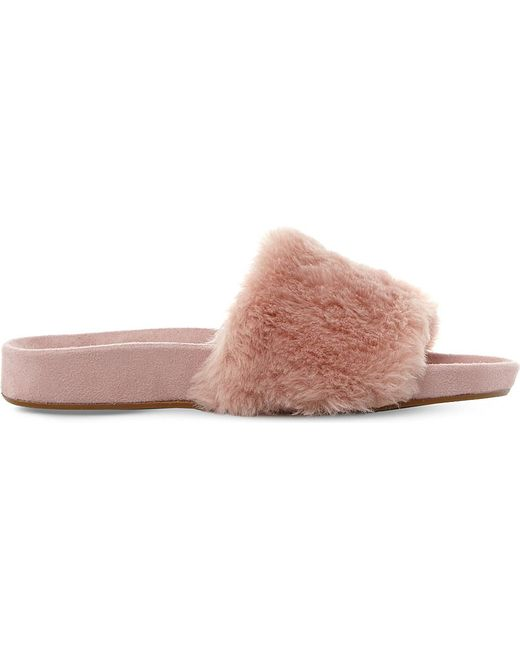 The most comfortable trend yet FLUFFY SLIDERS £42.75, DUNE AT DE GRUCHY