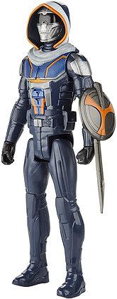 Figura Black Widow Titan Hero Series Taskmaster Hasbro 30cm