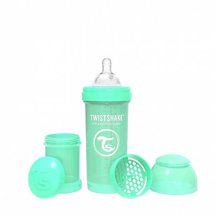 Tetero Anticolico Twistshake 8oz 260ml Verde