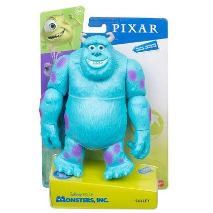 Monster Inc Sulley Figura Original Mattel Disney Pixar 20 Cm