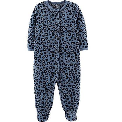 Pijama Leopardo Azul