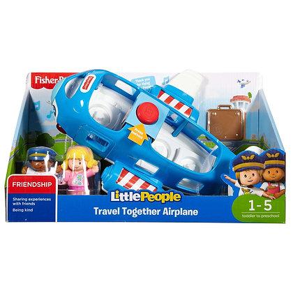 Little People Avión Viajemos Juntos Sonidos Luces Frases