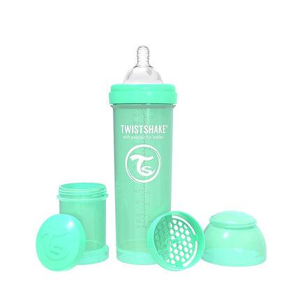 Tetero Anticolico Twistshake 11oz 330ml Verde