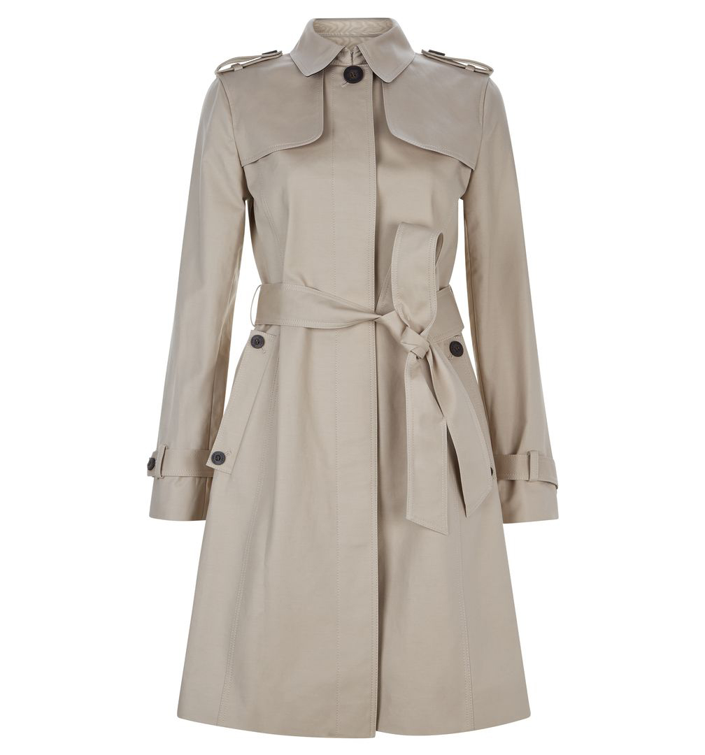 Not just a wardrobe basic MID LENGTH TRENCH £179.10, HOBBS AT VOISINS