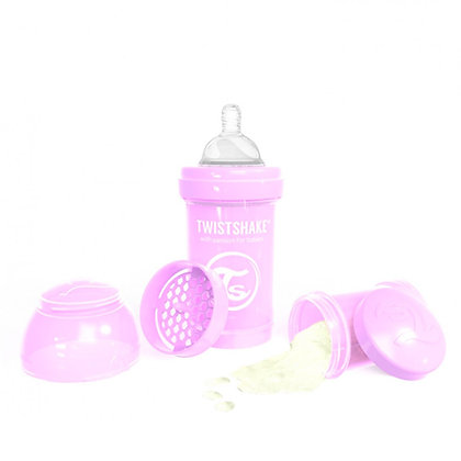 Tetero Anticolico Twistshake 6oz 180ml Lila