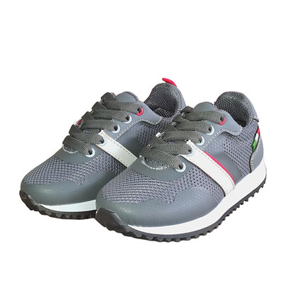 Zapatos Tenis Casuales FK Gris