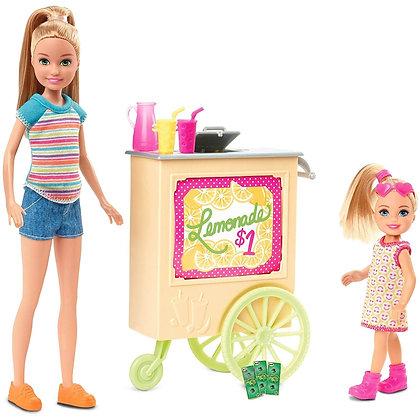 Barbie Stacie Stand Puesto Carrito De Limonada Original