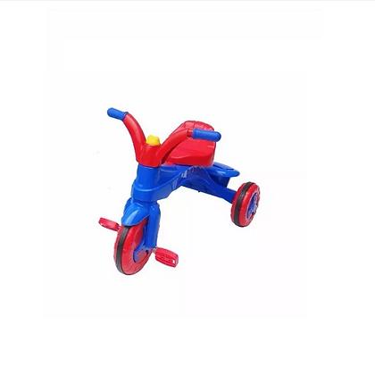 Triciclo Dukaty Infantil Color Azul y Rojo