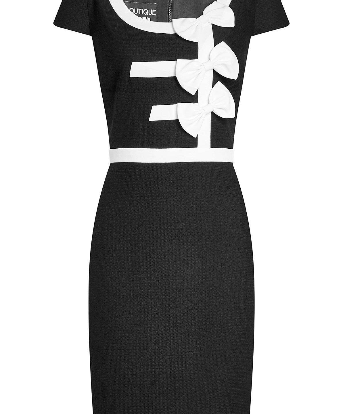 Boutique Moschino BOW DETAIL DRESS £370, BOUTIQUE MOSCHINO AT VOISINS