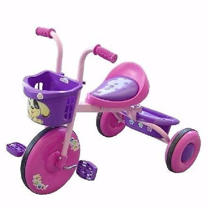 Triciclo Bambino Infantil Montable Color Rosa