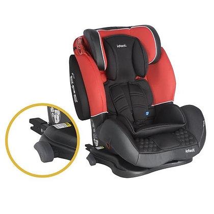 Silla Para Carro Élite Sps Roja Negra