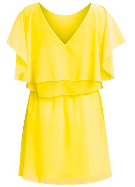 When life gives you lemons... BRIGHT SUN DRESS £42, CHICHI BOUTIQUE