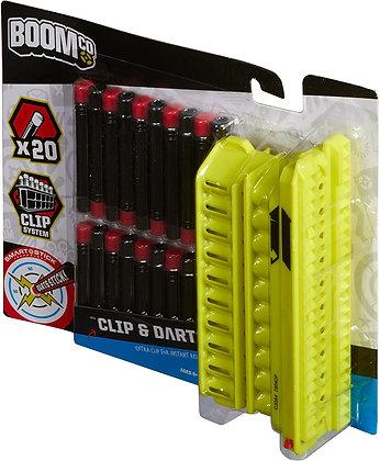 Dardos Boom Co Incluye Clip X20 Dardos