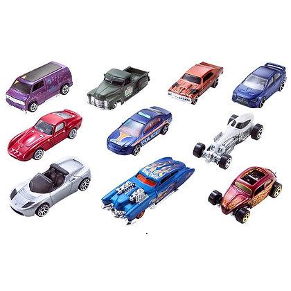 Autos De Colección Hotwheels x10
