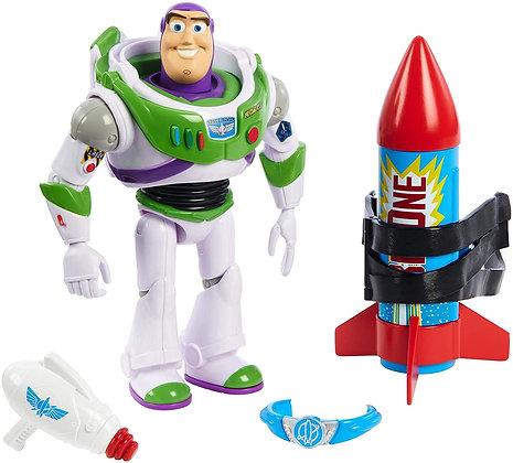 Toy Story Disney Pixar 4 Buzz Y Cohete 25 Aniversario