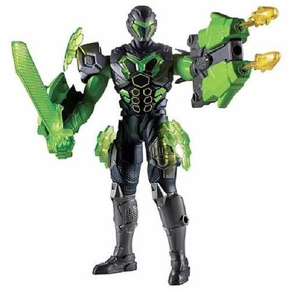 Max Steel Turbo Armadura